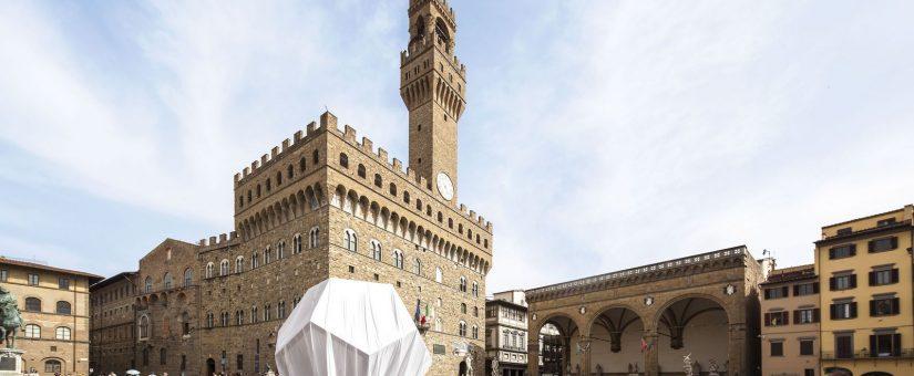Il Dodecaedro di Leonardo sbarca in Piazza della Signoria a Firenze